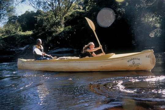 Rowing the Garden Route National Park